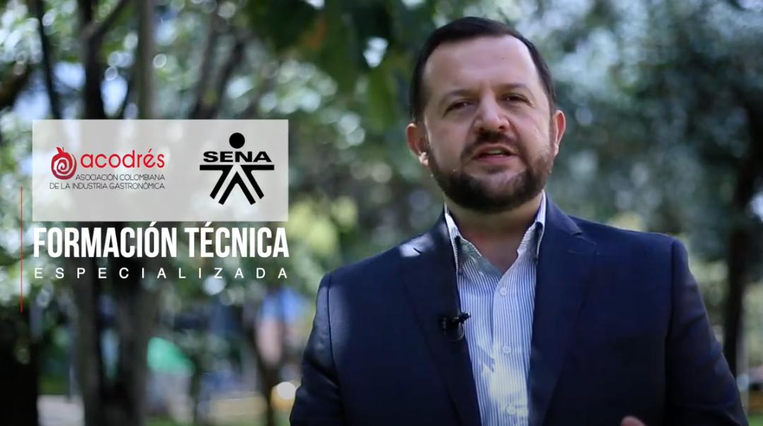 Acodres en alianza con el Sena lanza cursos de formación técnica especializada